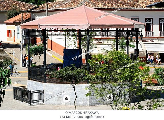 Square Dr. Oswaldo Cruz, São Luís do Paraitinga, São Paulo, Brazil