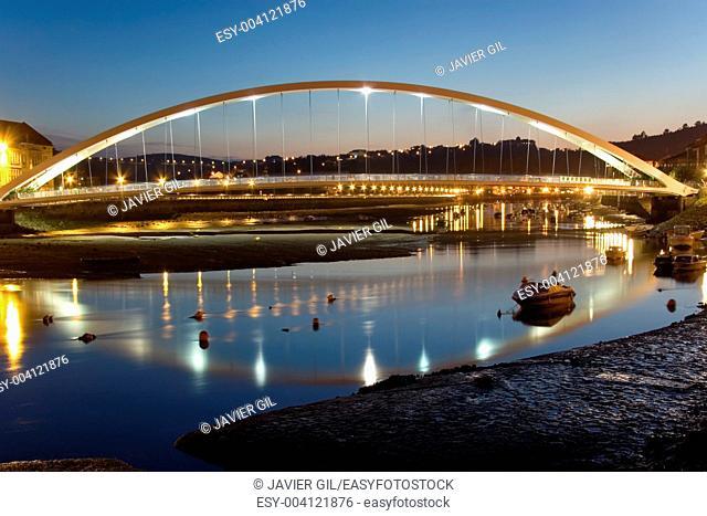 Bridge of Plentzia, Bizkaia, Basque Country, Spain