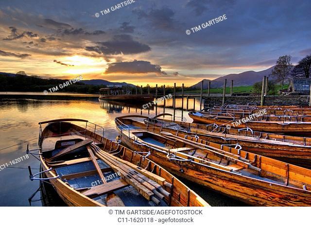 derwent water,Lake District, Cumbria, England, UK