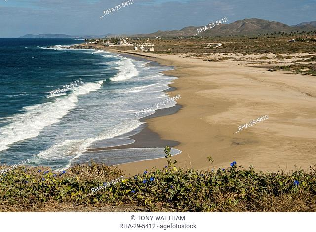 Punta Gasparena, Pacific coast south from Todos Santos, Baja California, Mexico, North America