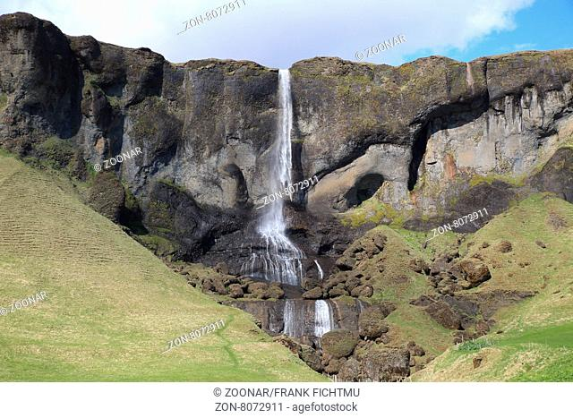 Foss a Sidu Southern Iceland