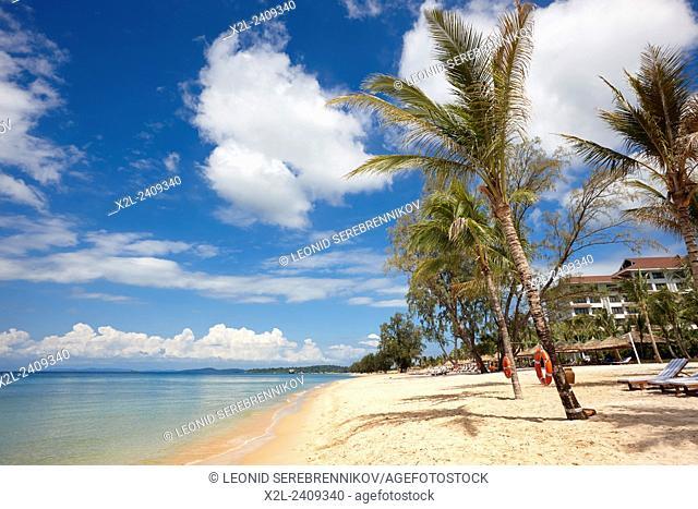 Beach at Vinpearl Resort, Phu Quoc island, Vietnam
