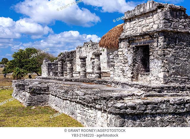 Tulum Archaeological Site, Quintana Roo, Mexico