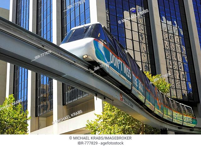 Monorail, Sydney, New South Wales, Australia