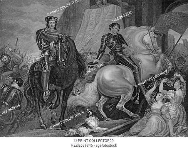 'King Richard The Second's Entry Into London', 1859. Artist: Robert Thew
