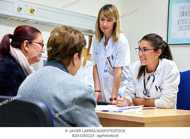 Medical consultation, Hematology, Hospital Donostia, San Sebastian, Gipuzkoa, Basque Country, Spain