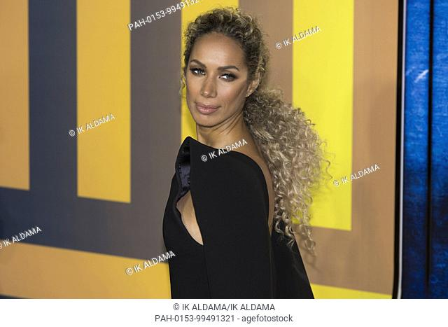Leona Lewis attends BLACK PANTHER European Premiere - London, UK (08/02/2018)   usage worldwide. - London/United Kingdom of Great Britain and Northern Ireland