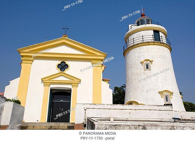 Scene of lighthouse, Macao
