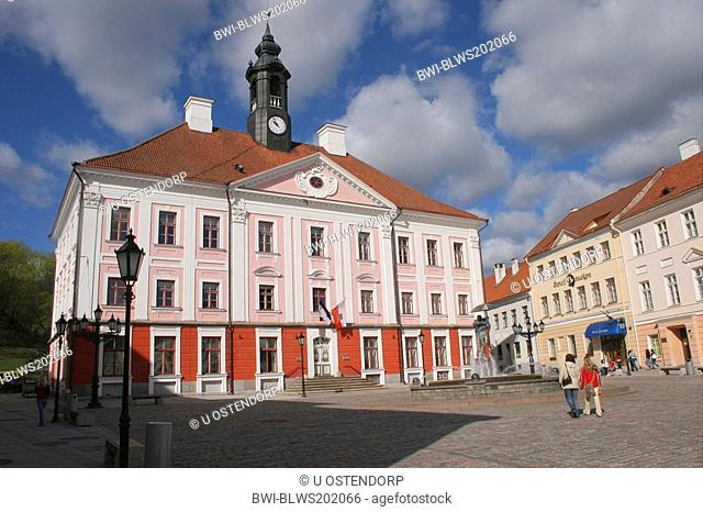 town hall in Tartu, Estonia, Tartu