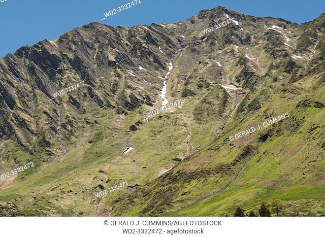 Europe, France, Hautes-Pyrénées , 06-2019, The Western Pyrenees National Park covers a significant area, including well-known attractions such as the Cirque de...