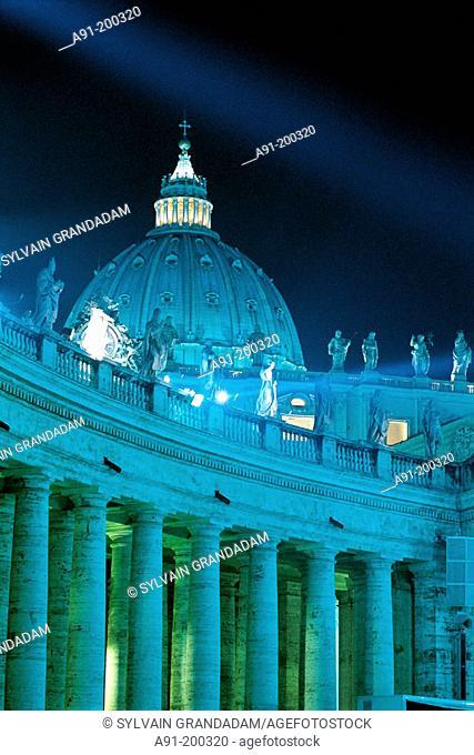 St. Peter's Basilica. Vatican. Rome. Italy