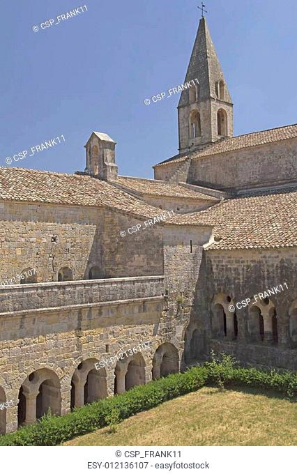 Thoronet Abbey in Provence (France)