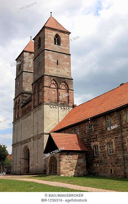 The Premonstratensian monastary Sankt Marien at Vessra, Hildburghausen district, Thuringia, Germany