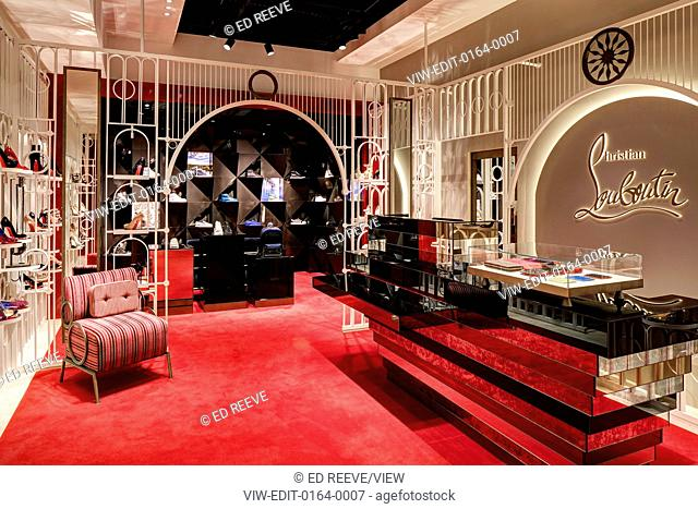 9015939b9d Christian Louboutin Manchester, Manchester, United Kingdom. Architect: n.a