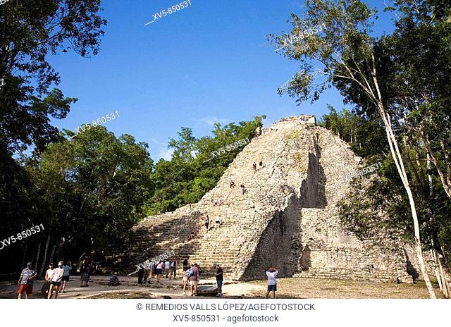 Mexico Yucatan Coba Nococh Mul