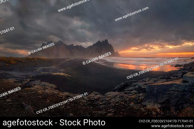 being home to the mountain Vestrahorn