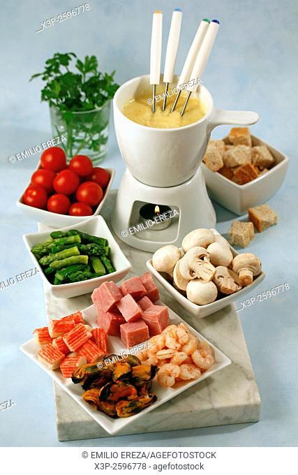 Mixed fondue