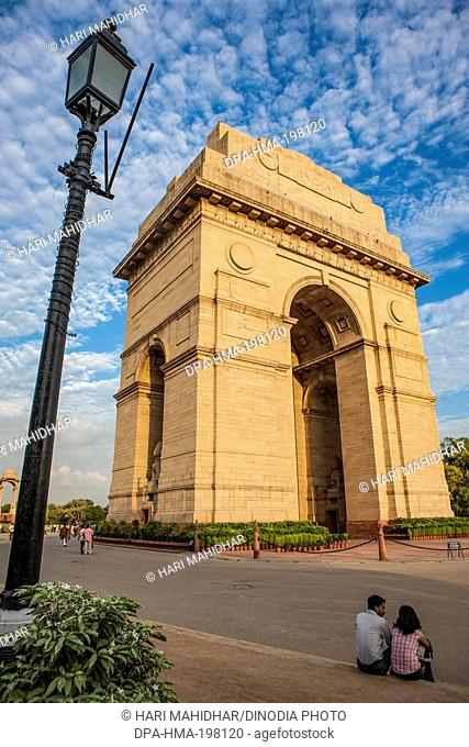 India gate, new delhi, india, asia