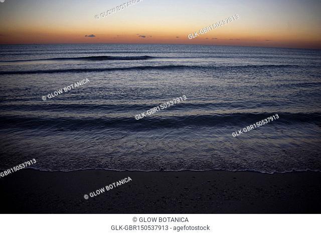 Surf on the beach, Miami Beach, Florida, USA