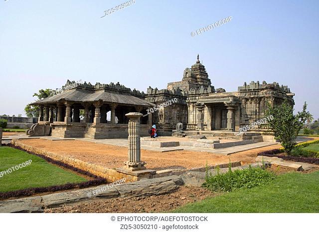 Brahma Jinalaya Jain temple. Lakkundi in Gadag District of Karnataka