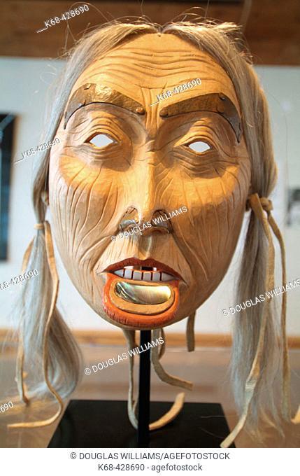 Prince Rupert Museum coast native mask