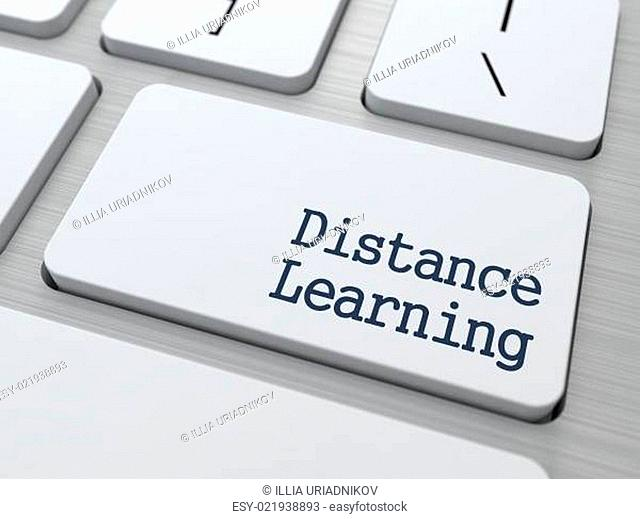 Distance Learning Button