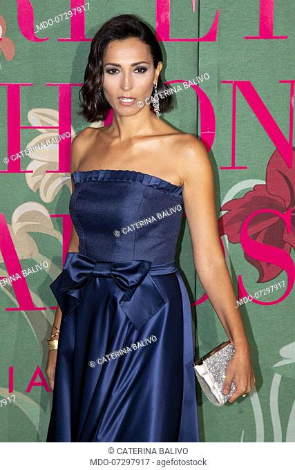Caterina Balivo on the Red carpet of the Green carpet Fashion Awards event at the Teatro alla Scala. Milan (Italy), September 22nd, 2019
