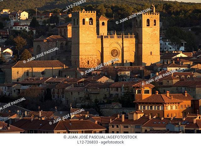 Cathedral, Sigüenza. Guadalajara province, Castilla-La Mancha, Spain
