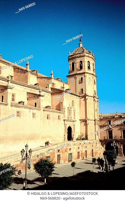 Former Colegiata de San Patricio. Lorca. Murcia province. Spain