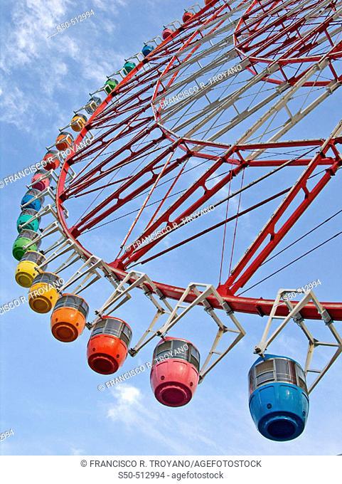 Big wheel. Tokyo. Japan