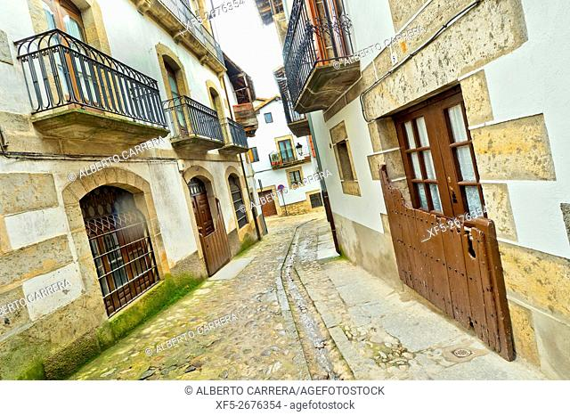 Traditional Architecture, Candelario, Ruta de la Plata, Salamanca, Castilla y León, Spain, Europe