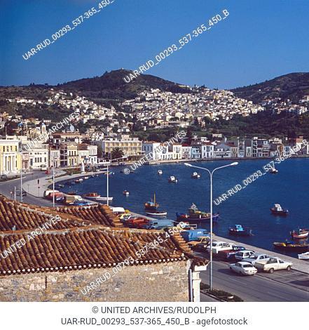 Eine Reise nach Samos, Griechenland 1980er Jahre. Trip to Samos, Greece 1980s