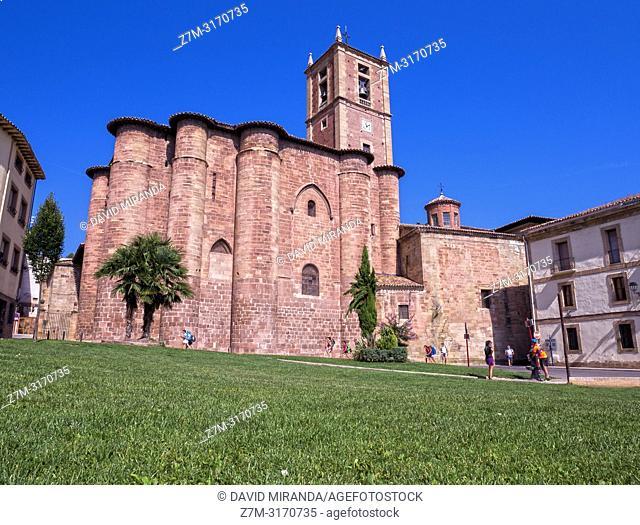 Monasterio de Santa María la Real. Nájera. La Rioja. Spain