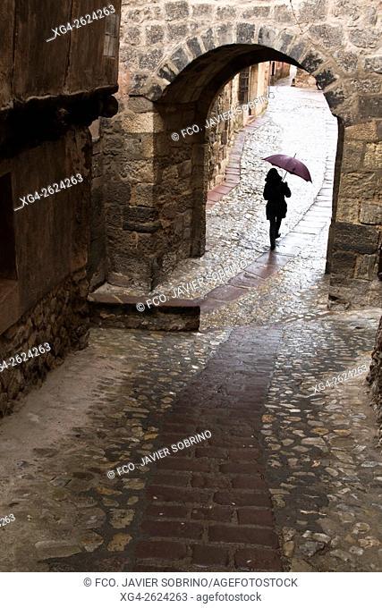 Arco del portal de Molina - Albarracín, Teruel Province, Aragon, Spain