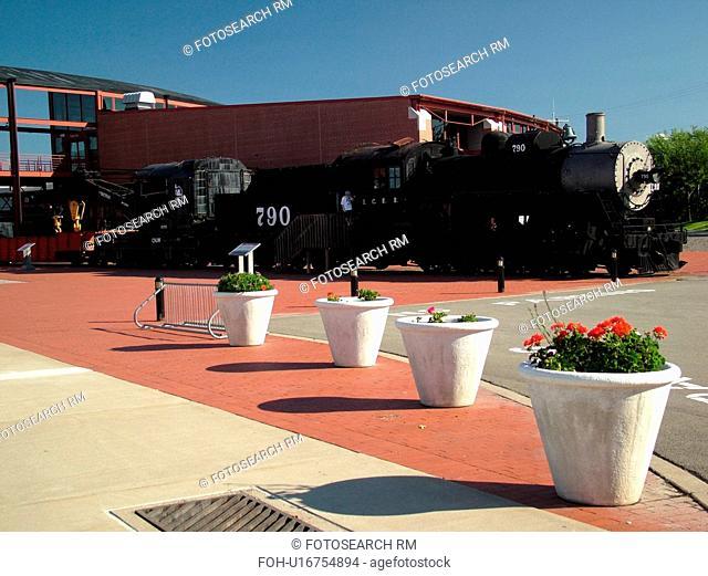 Scranton, PA, Pennsylvania, Steamtown National Historic Site, railroad