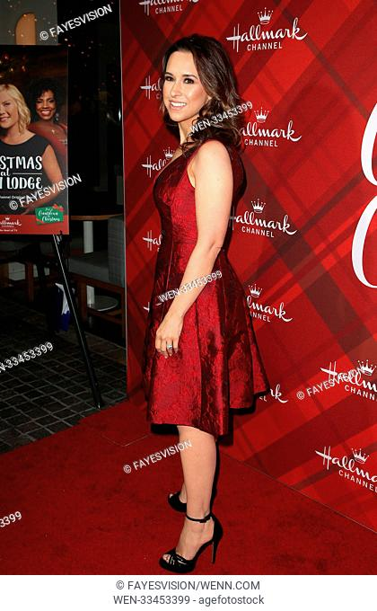 Hallmark Channel Screening of Christmas at Holly Lodge Featuring: Lacey Chabert Where: Los Angeles, California, United States When: 04 Dec 2017 Credit:...