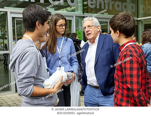 Pedro Miguel Echenique Landiribar (Professor of Condensed Matter Physics from the University of the Basque Country).10th edition of 'Top @ DIPC-Zientziarekin...