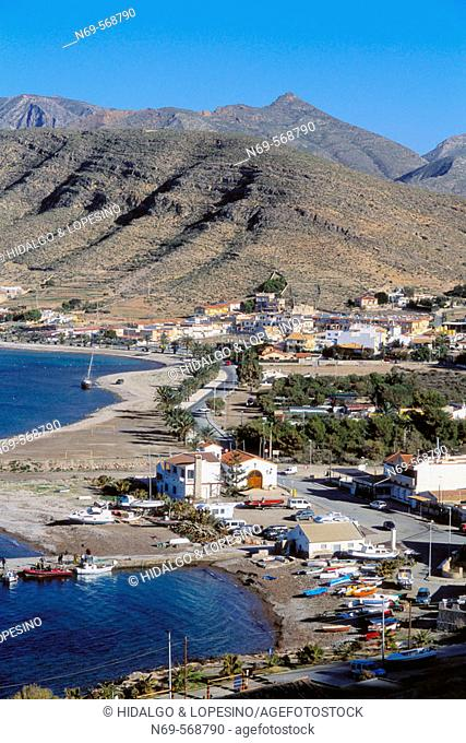 La Azohia. Beach. Murcia province. Spain