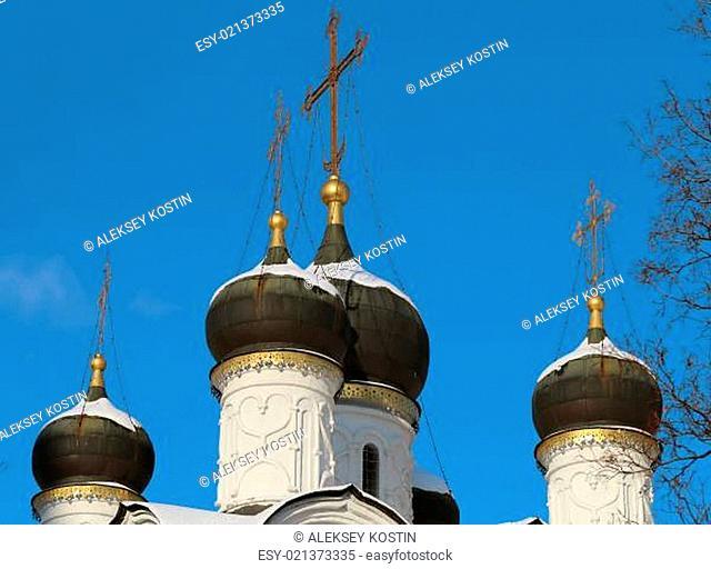Orthodox church dome