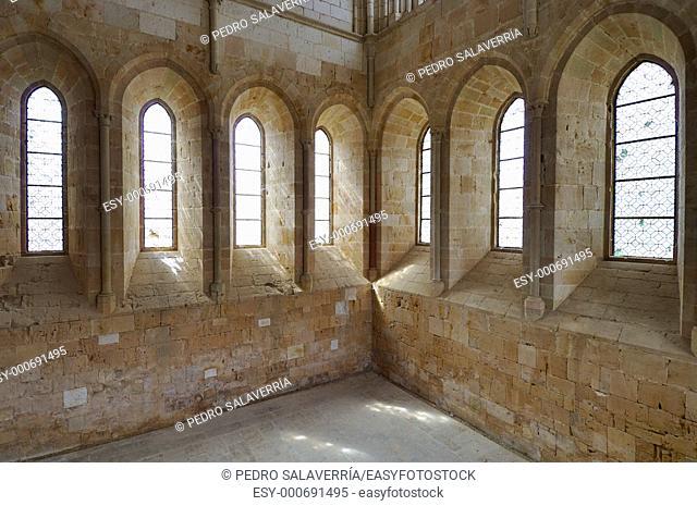 Cistercian monastery of Santa Maria de Huerta in Spain