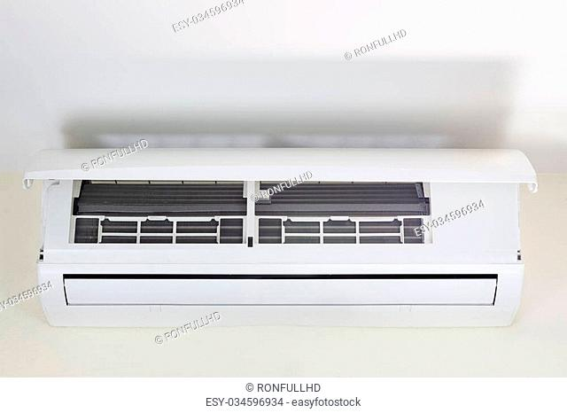 Cooling coil inside air conditioner machine