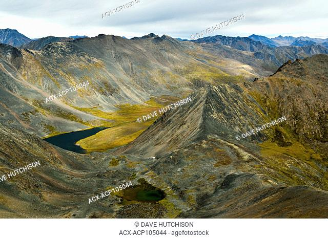 Grizzly Lake campsite, Tombstone Territorial Park, Yukon, Canada