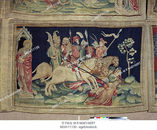 La Tenture de l'Apocalypse d'Angers, Les myriades de cavaliers 1,53 x 2,47m, die Reiter