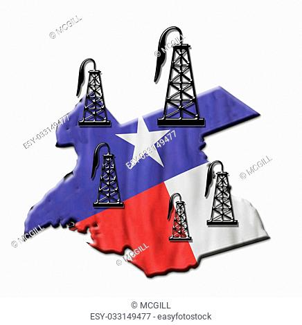 Texas booming oil field industry