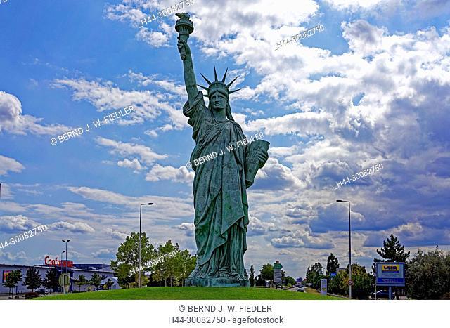 Freiheitsstatue, Statue De La Liberté de Colmar