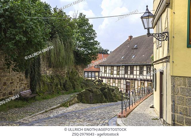 Am Schlossberg, Quedlinburg, Saxony-Anhalt, Germany