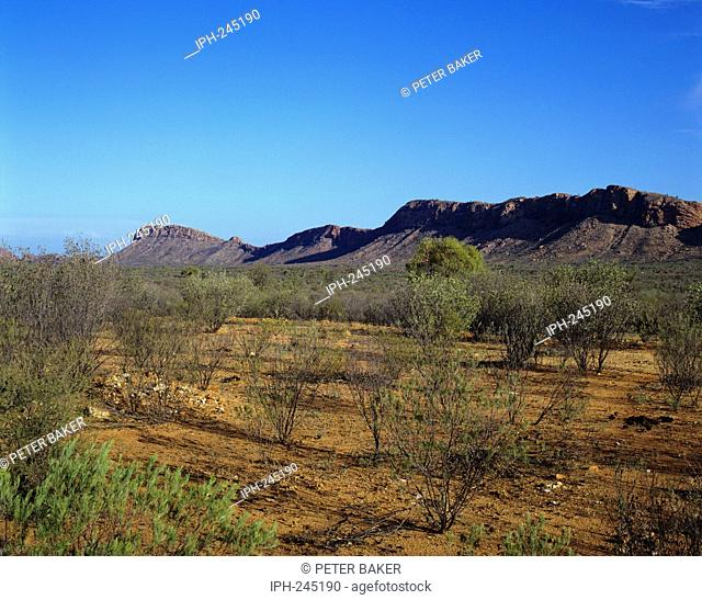 Western MacDonnell Ranges - Beautiful scenery in the national park which lies west of Alice Springs