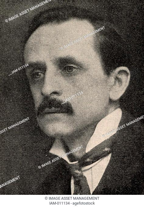 James Matthew (JM) Barrie (1860-1937) Scottish playwright and novelist, born at Kirriemuir, Angus, Scotland. 'Quality Street' (1901), 'Peter Pan' (1904)