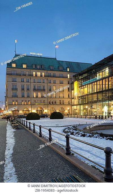 Hotel Adlon, at night,Unter den Linden,Mitte,Berlin,Germany