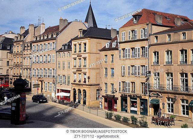 France, Lorraine, Metz, Place St-Etienne